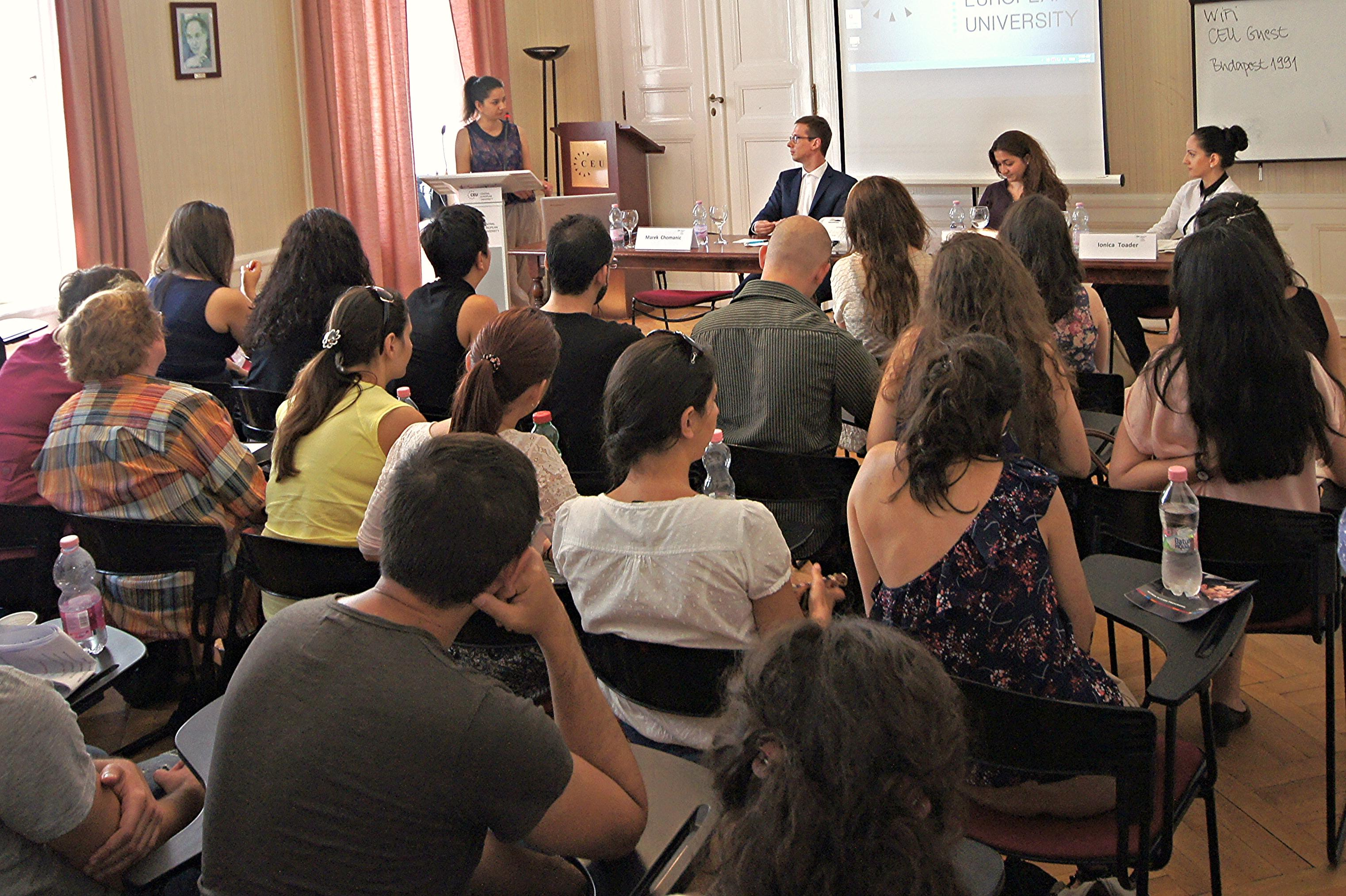 RGPP End-of-year student seminar 2015