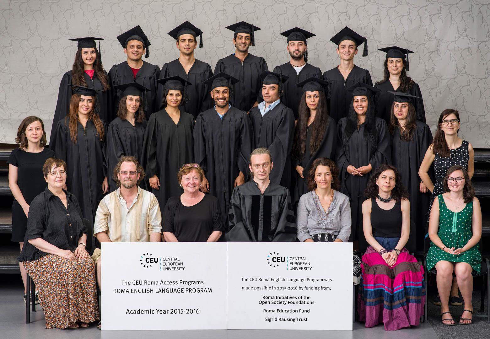 RELP RAP CEU Class of 2015-2016