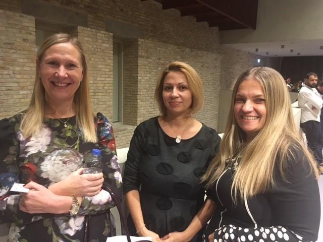 MELANIE SEYMOUR, BlackRock/  Azemina Tomljenovic, RGPP student/ Erika Solyom, RES Manager